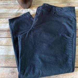 Ava & Viv Plus Size Black Jegging Pants Size 26W